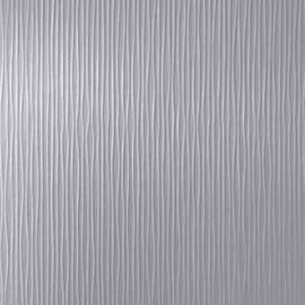609 Waves Brushed Aluminum - Lamin-Art