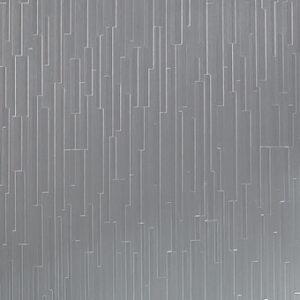 613 Striations Brushed Aluminum - Lamin-Art