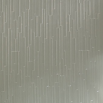 616 Striations Brushed Champagne - Lamin-Art