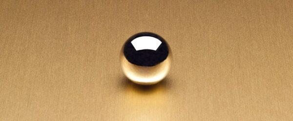 6258 Satin Brushed Gold Aluminum - Wilsonart