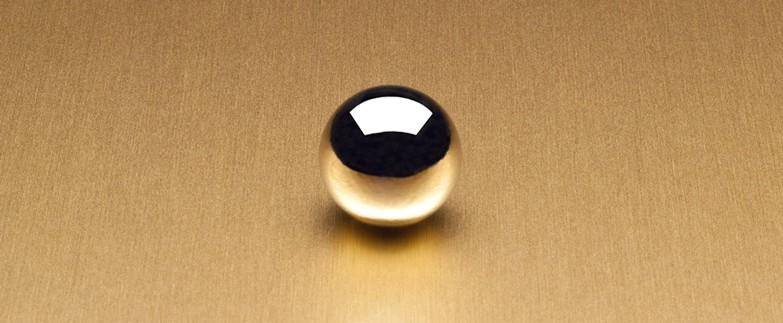 6258 Satin Brushed Gold Aluminum Laminate Countertops
