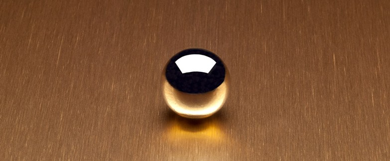 6284 Satin Brushed Copper Aluminum Laminate Countertops