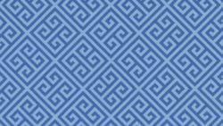 9492 Blue Greek Key - Formica