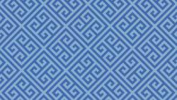9492 Blue Greek Key - Formica