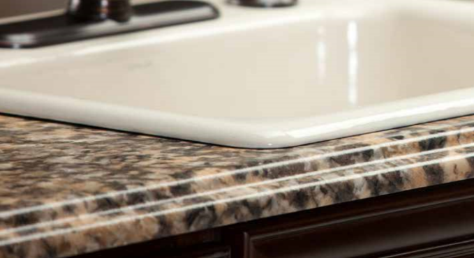 Barcelona Edge Profile - Laminate Countertops