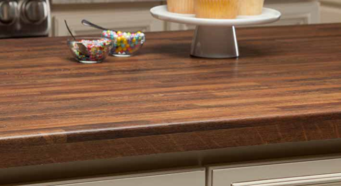 Marbella Edge Profile Pencil Edge Laminate Countertops