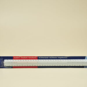 Ruler - Staedtler Architect's Triangular Scale Ruler Part#98719-31BK