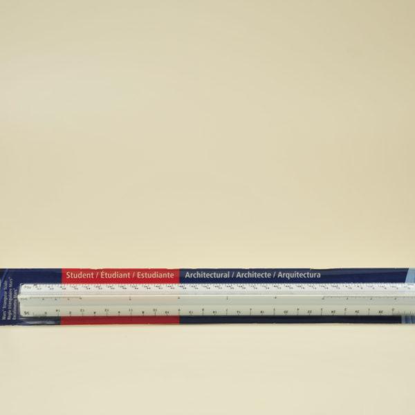 Ruler - Staedtler Architect's Triangular Scale Ruler Part#98719-31BK
