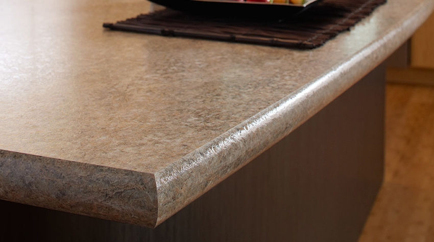 Lc Crescent Edge Profile Curved Edge Laminate Countertops