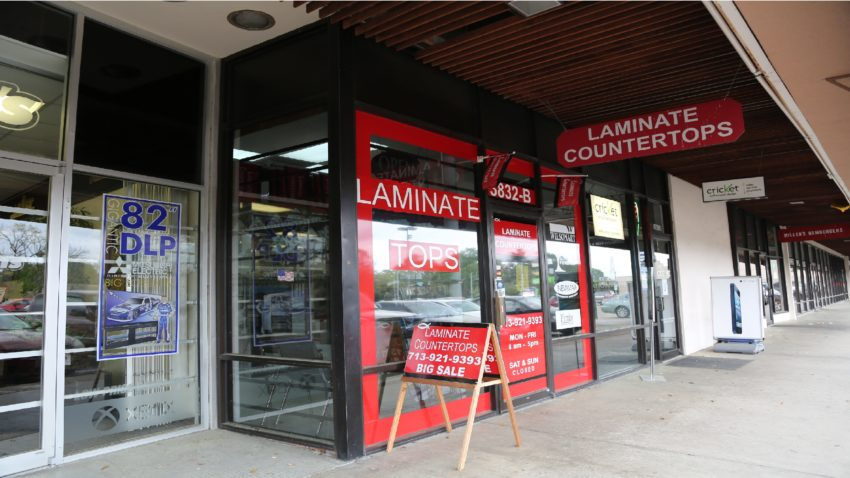 Laminate Countertops Store Front