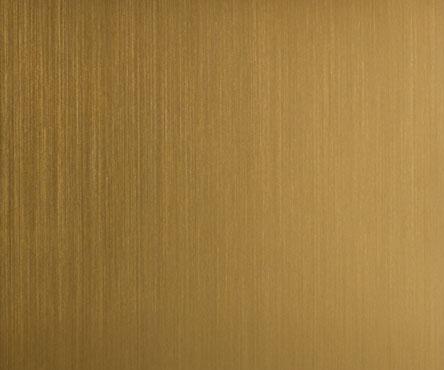 931 Brushed Golden Aluminum Laminate Countertops