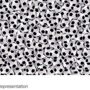 Y0021 Soccerballs - Wilsonart
