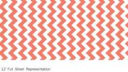 Y0119 Papaya Chevron - Wilsonart