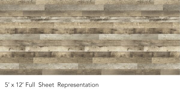 Y0303 Rediscovered Oak Planked - Wilsonart